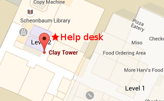 UC Helpdesk Location